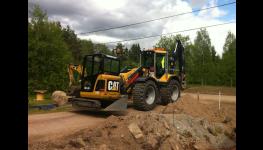 Zemní a výkopové práce, přípravné a dokončovací terénní úpravy pro stavby