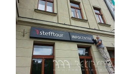 Světelná reklama Praha - výroba a montáž světelné reklamy