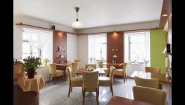 Komfortní ubytování se snídaní v penzionu v centru Znojma