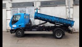 Betonárna s moderní automatickou míchací linkou na výrobu malty a betonu
