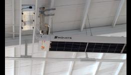Trubkové plynové infrazářiče Reznor - nejlevnější řešení vytápění hal