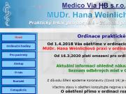 WEBOVÁ STRÁNKA Medico Via HB, s.r.o.
