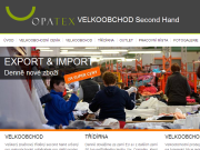 SITO WEB Opatex, s.r.o. - Velkoobchod second hand