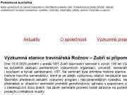 WEBOVÁ STRÁNKA OSEVA vývoj a výzkum s.r.o.