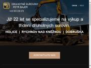 SITO WEB Petr Bajer - Sberne suroviny