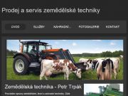 WEBOVÁ STRÁNKA Zemědělská technika Petr Trpák