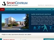 WEBSITE SPORTCENTRUM Brandys s.r.o. Hotel, sportovni centrum