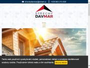 WEBSITE STRECHY DAVMAR s.r.o.