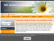 WEBOVÁ STRÁNKA NBS úklidová technika - Tomáš Berka