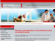 WEBOVÁ STRÁNKA TOP OKNA s.r.o.