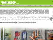 WEBOVÁ STRÁNKA Voplyntop, s.r.o. Rozvody vody, plynu a topení Kladno