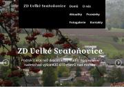 WEBOVÁ STRÁNKA Zemědělské družstvo Velké Svatoňovice