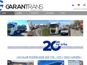 WEBOVÁ STRÁNKA Garantrans s.r.o. Praha