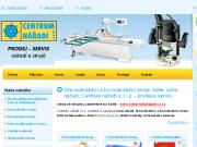 SITO WEB Centrum naradi s. r. o. Naradi Opava