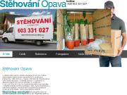 WEBOVÁ STRÁNKA Stěhování Opava Roman Košárek