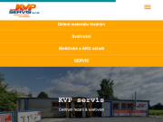 WEBOVÁ STRÁNKA KVP servis s.r.o.