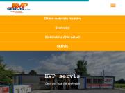 WEBSITE KVP servis s.r.o.