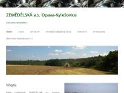 WEBOVÁ STRÁNKA ZEMĚDĚLSKÁ a.s. Opava-Kylešovice