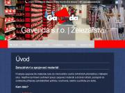 WEBOVÁ STRÁNKA GAVENDA s.r.o. Železařství, spojovací materiál Opava