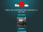 WEBOVÁ STRÁNKA GAVENDA s.r.o. Hutní materiál, profily Opava