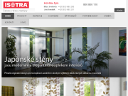 WEBSITE ISOTRA a.s. Zaluzie, rolety, markyzy