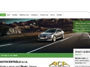 WEBOVÁ STRÁNKA AUTOCENTR�LA s.r.o. Autosalon �koda Hlu��n