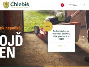WEBOVÁ STRÁNKA CHLEBIŠ s.r.o. Zahradní a komunální technika