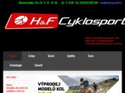 WEBOVÁ STRÁNKA Cyklosport HaF Cykloservis, cyklosport Opava