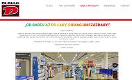 PÁGINA WEB DUMAG barvy s.r.o. Barvy - laky - lepidla - tmely Opava