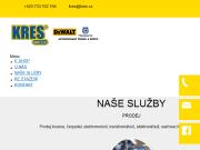 SITO WEB KRES spol. s r.o. Opava opravy elektromotoru a cerpadel