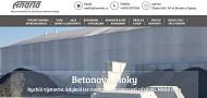 PÁGINA WEB Andrla CZ s.r.o. Opava Betonarna a sypke materialy