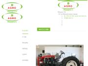 WEBOVÁ STRÁNKA B AGRO Březová s.r.o. Zemědělská, lesnická, komunální technika