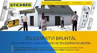 WEBOVÁ STRÁNKA STORES Bruntál, s.r.o.