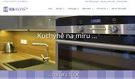 WEBOVÁ STRÁNKA HON-KUCHYNĚ studio Opava