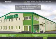 WEBSITE Agrozem Opava, s.r.o. Prodej lesni a zemedelske techniky