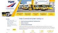 WEBOVÁ STRÁNKA TQM - holding s.r.o. Nákladní a autobusová doprava Opava