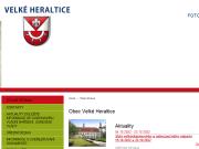WEBOVÁ STRÁNKA Obec Velké Heraltice Obecní úřad