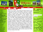 WEBOVÁ STRÁNKA Obec Těškovice