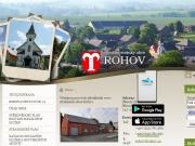 Strona (witryna) internetowa Obec Rohov Obecni urad