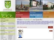 WEBOVÁ STRÁNKA Obecní úřad Kobeřice