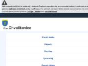 WEBOVÁ STRÁNKA Obec Chvalíkovice Obecní úřad