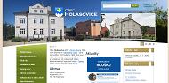 SITO WEB Obec Holasovice Obecni urad