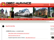WEBOVÁ STRÁNKA Obec Hlavnice Obecní úřad