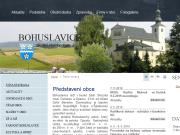 WEBOVÁ STRÁNKA Obec Bohuslavice Obecní úřad