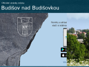 WEBOVÁ STRÁNKA Město Budišov nad Budišovkou Městský úřad