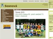 SITO WEB Obec Sosnova Obecni urad