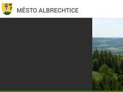 WEBOVÁ STRÁNKA Město Město Albrechtice Městský úřad
