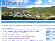 WEBOVÁ STRÁNKA Obec Vápenná Obecní úřad