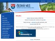 WEBOVÁ STRÁNKA Obec Česká Ves Obecní úřad