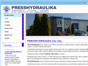 WEBOVÁ STRÁNKA PRESSHYDRAULIKA, s.r.o.